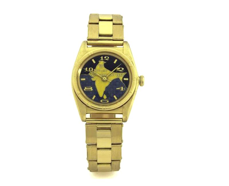 image of dr. rajendra prasad's rolex watch