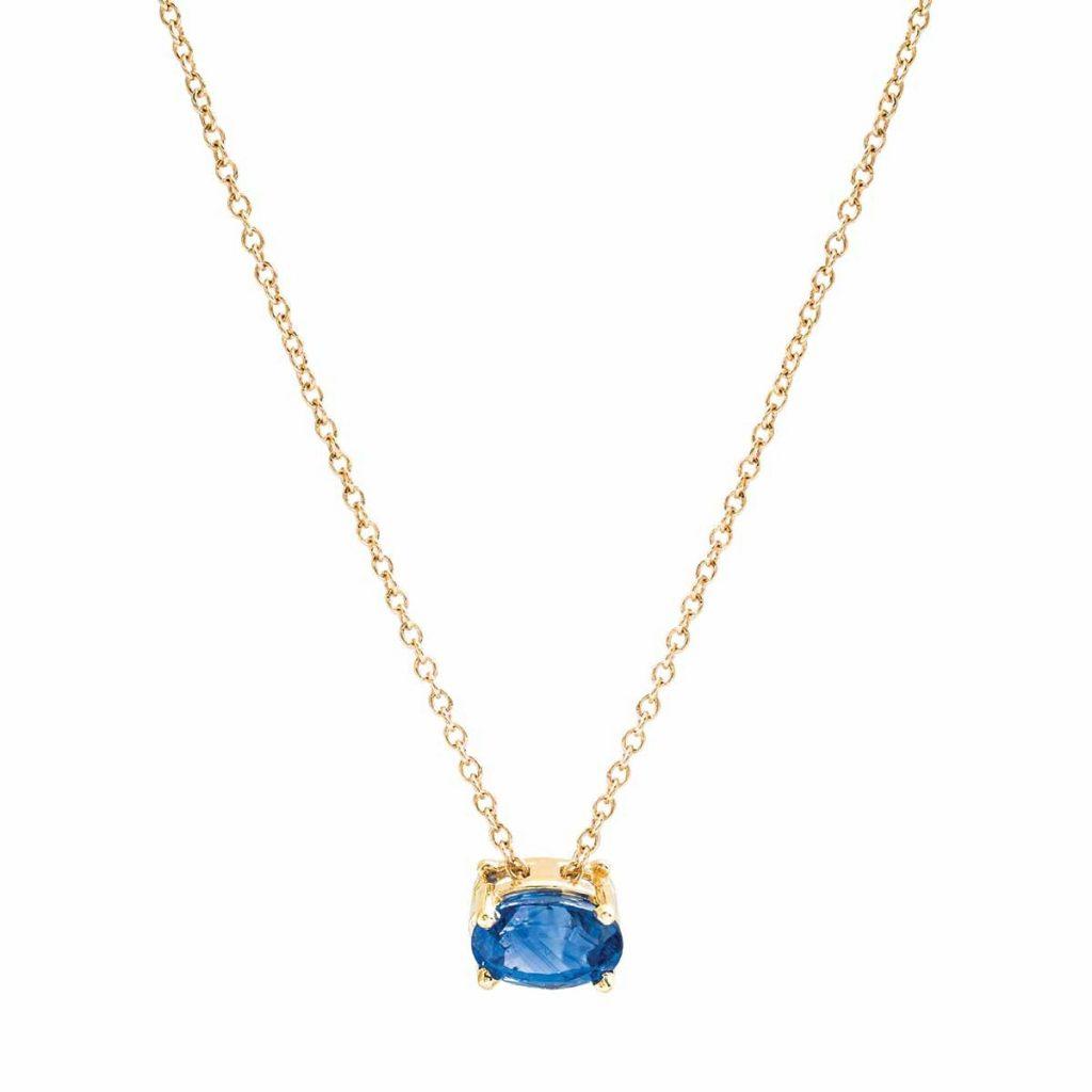 image of blue sapphire neckace
