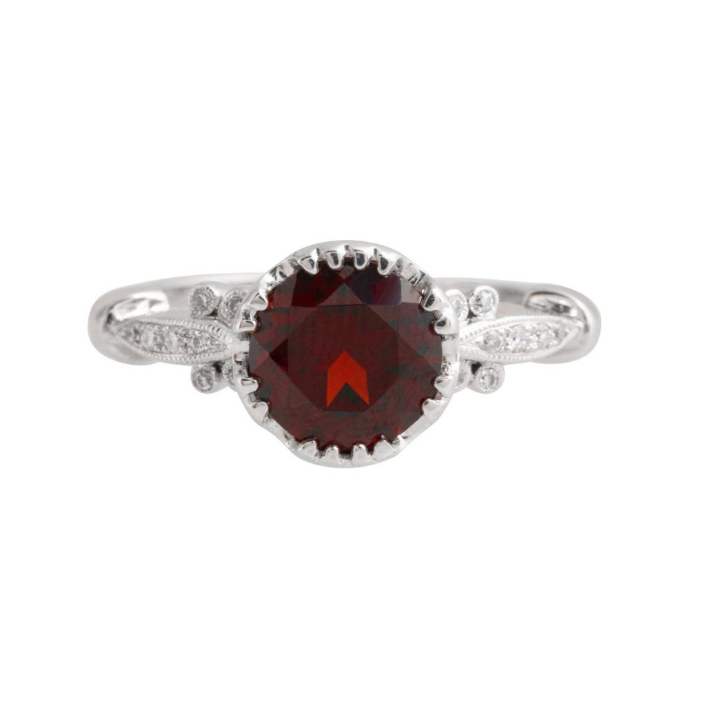 image of january birthstone ring
