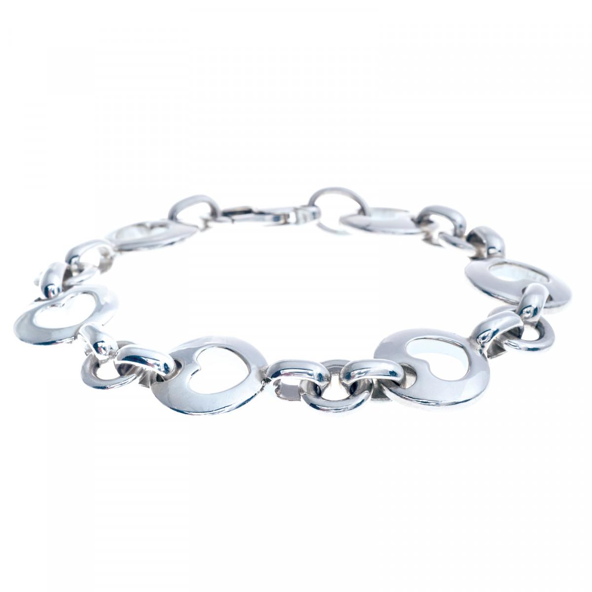 e949ca985 Vintage Tiffany & Co. Heart Circle Bracelet Gallery Image