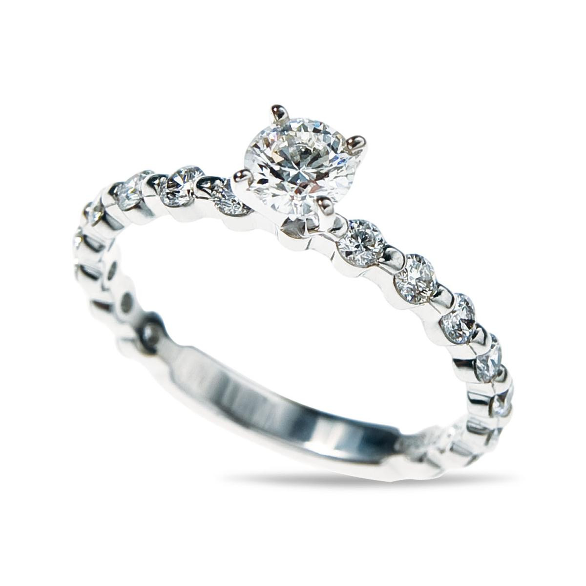 New Hearts On Fire® Multiplicity 0.90 CTW Diamond Solitaire Ring