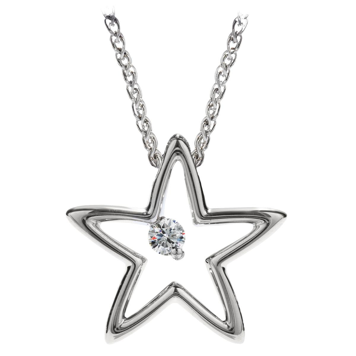 New Hearts On Fire® My 1st Star Pendant
