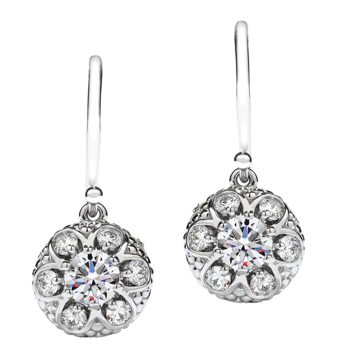New Hearts On Fire® Melange 0.86 CTW Diamond Earrings