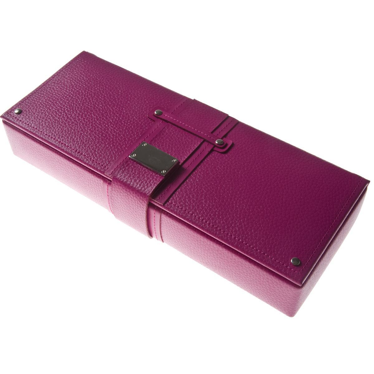 Wolf Designs Pink Safe Deposit Jewelry Box