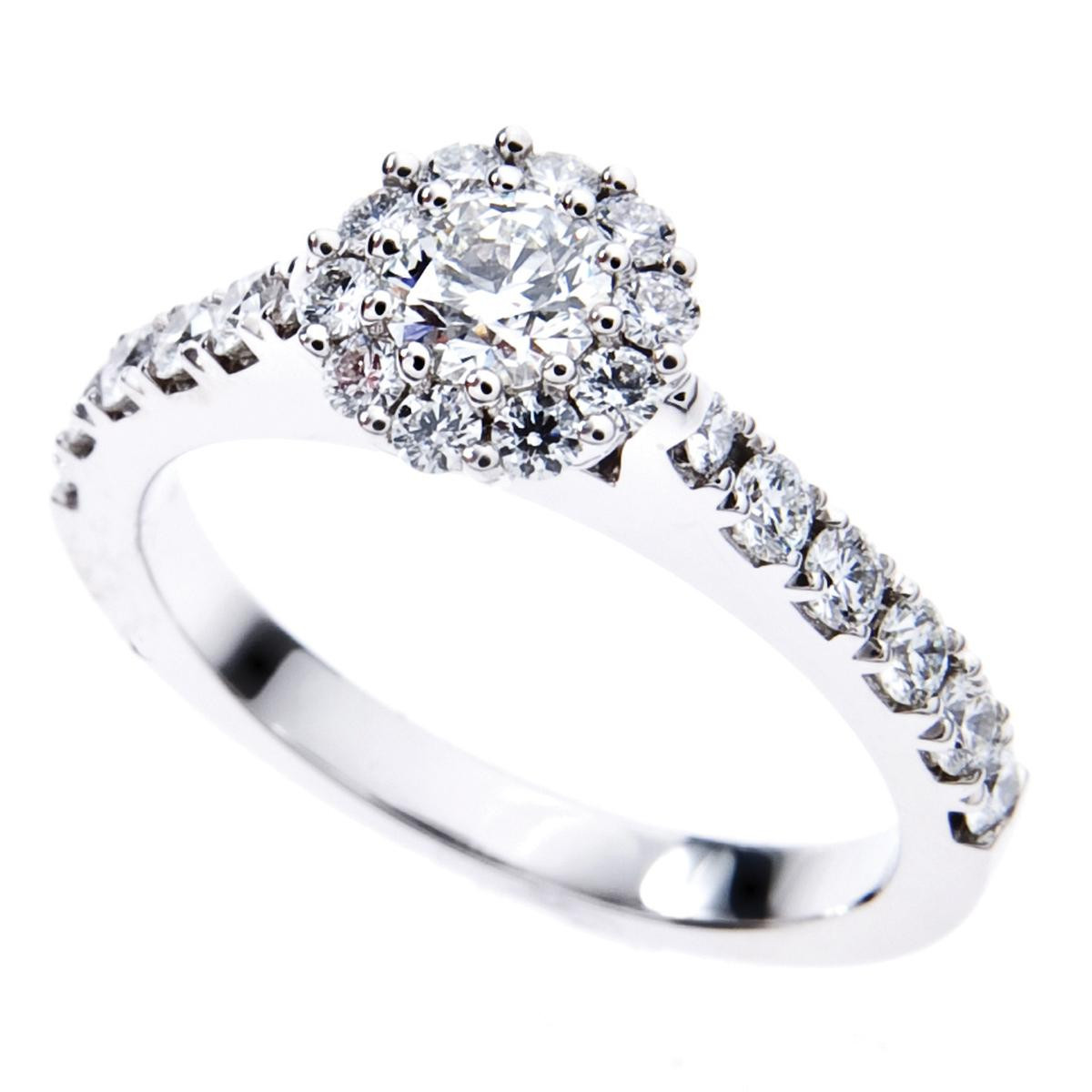 Hearts On Fire® Beloved 0.953 Ct Diamond Engagement Ring