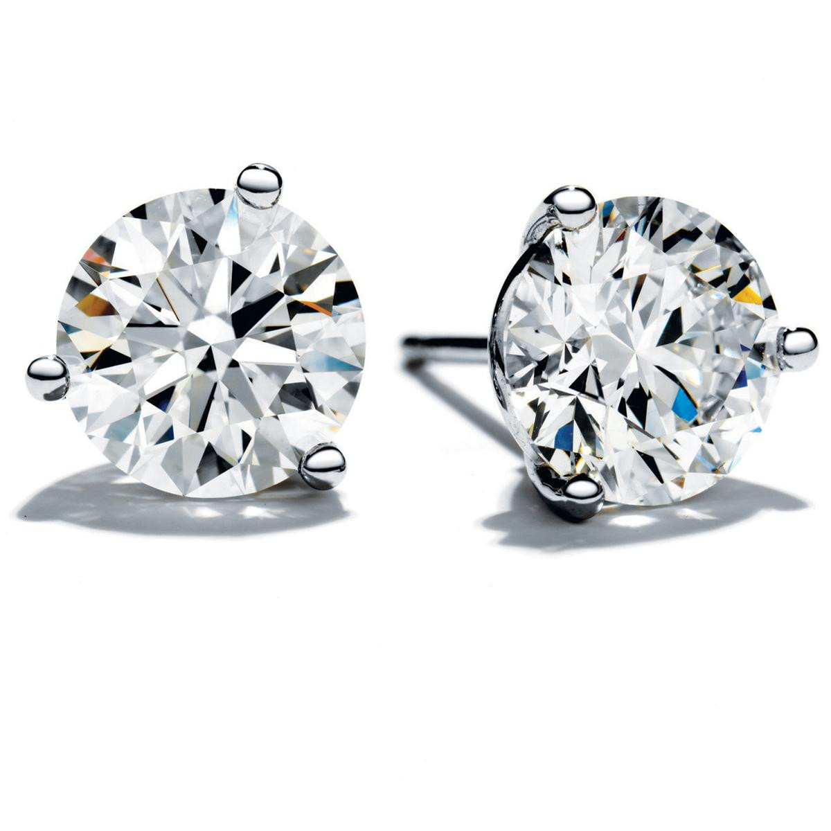New Hearts On Fire® 1.01 CTW Diamond Stud Earrings