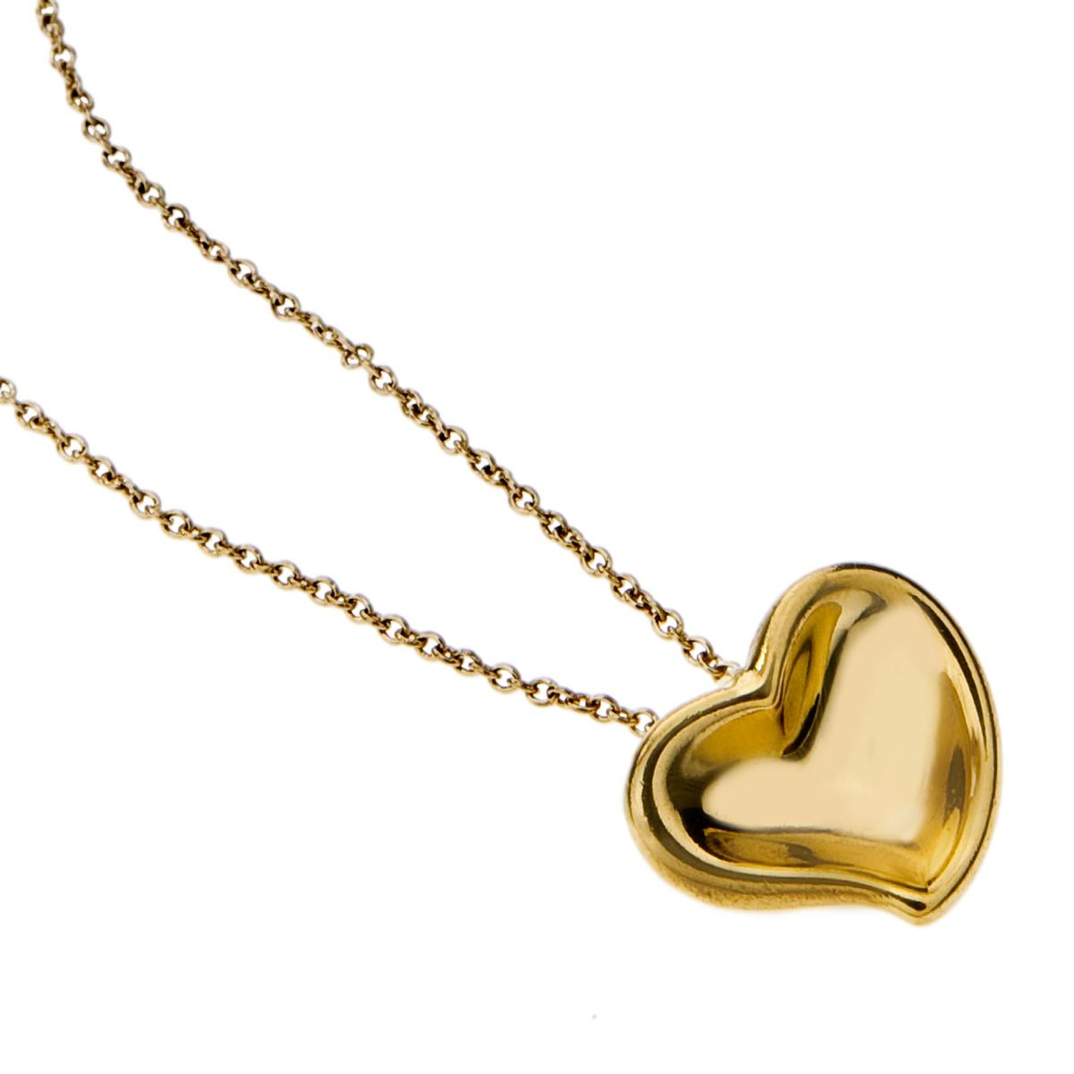 Vintage Tiffany & Co. Elsa Peretti Heart Necklace