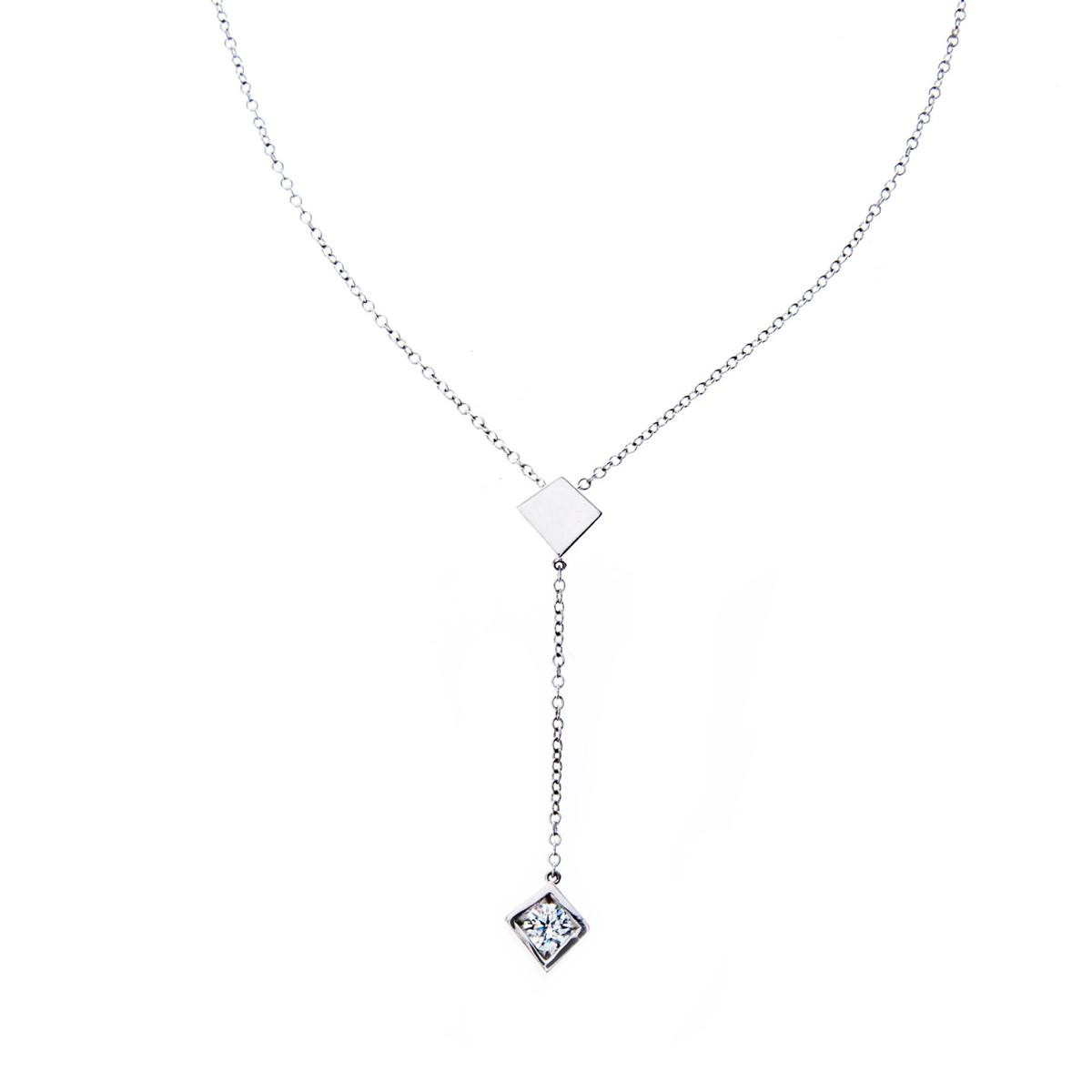 Vintage Tiffany & Co. Diamond Torque Necklace by Frank Gehry