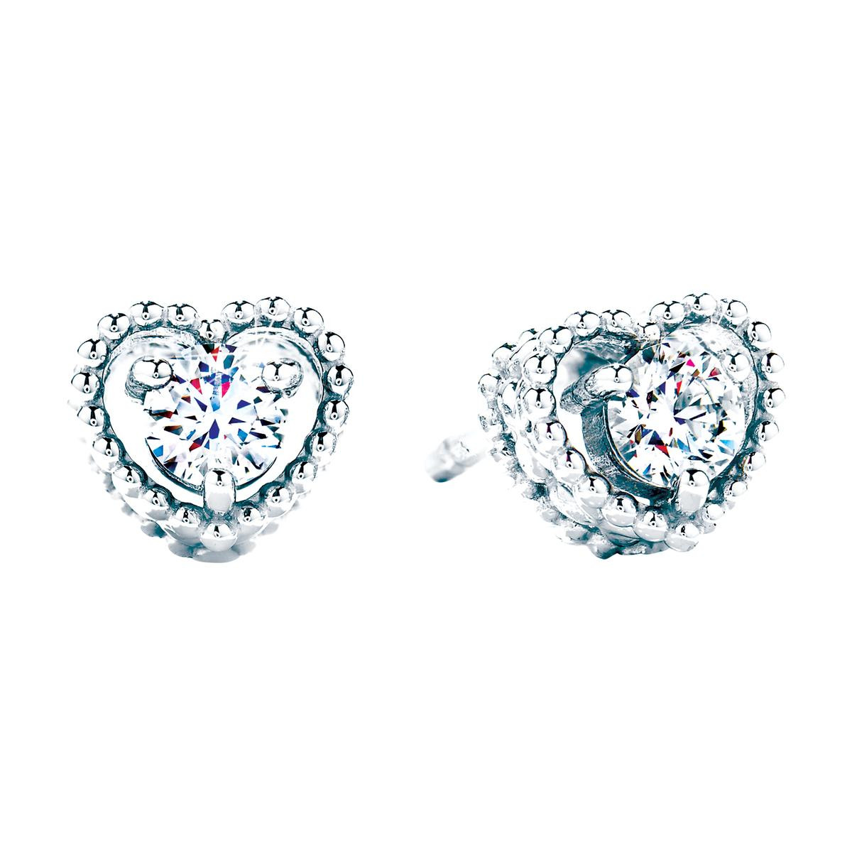 New Hearts On Fire® Diamond Heart Earrings