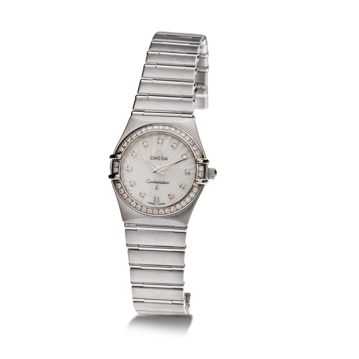 Pre-Owned Women's Omega Constellation with Diamond Dial
