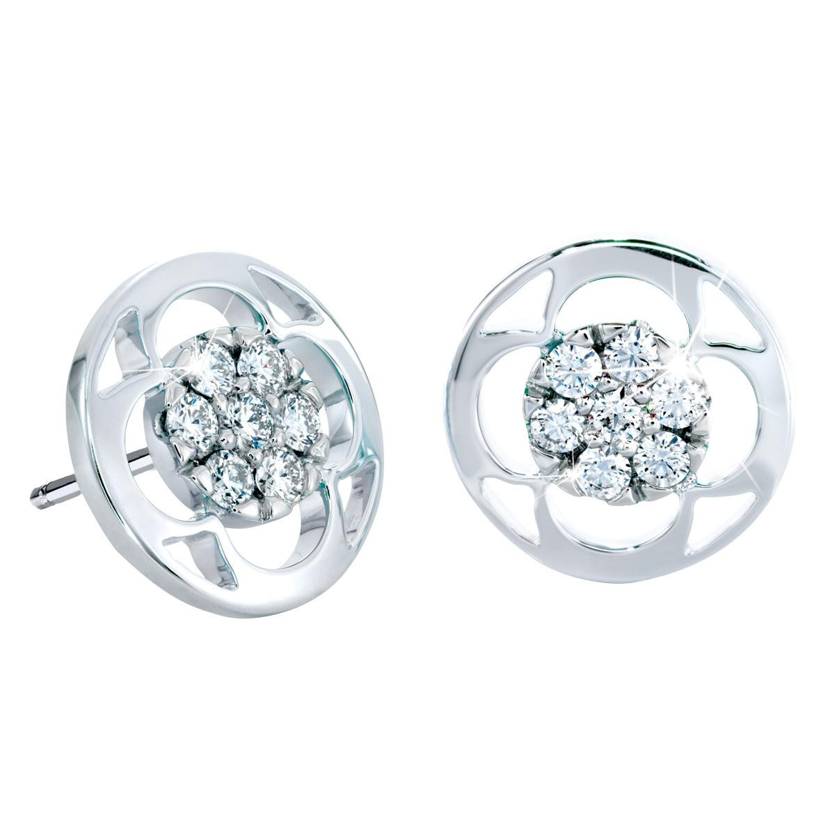 New Hearts On Fire® Copley 0.48 CTW Diamond Stud Earrings