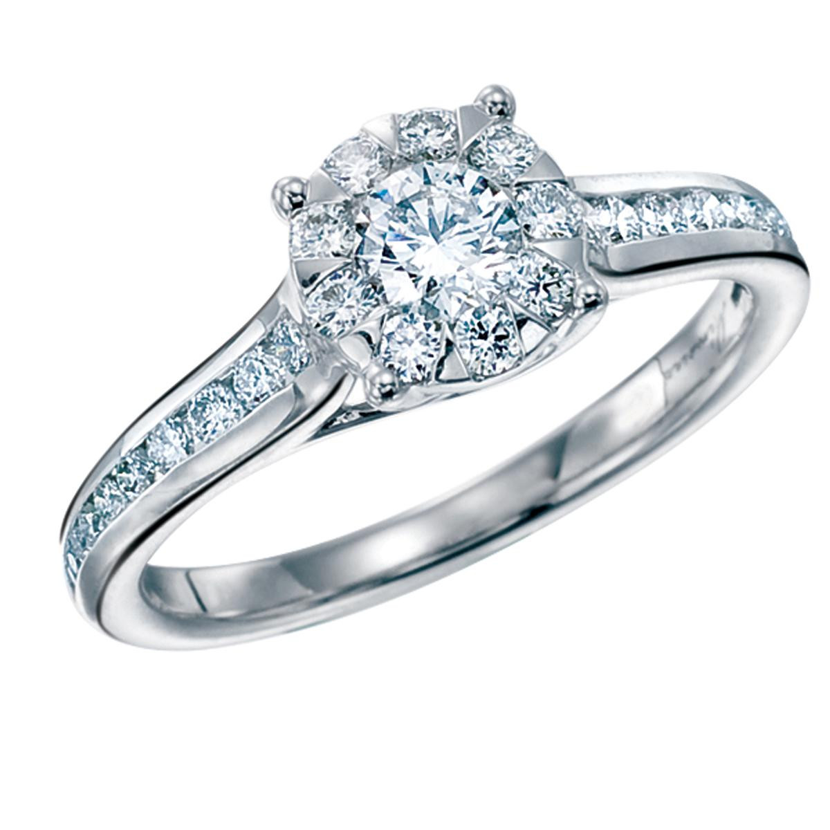 New Mémoire® 1.00 CTW Diamond Engagement Ring