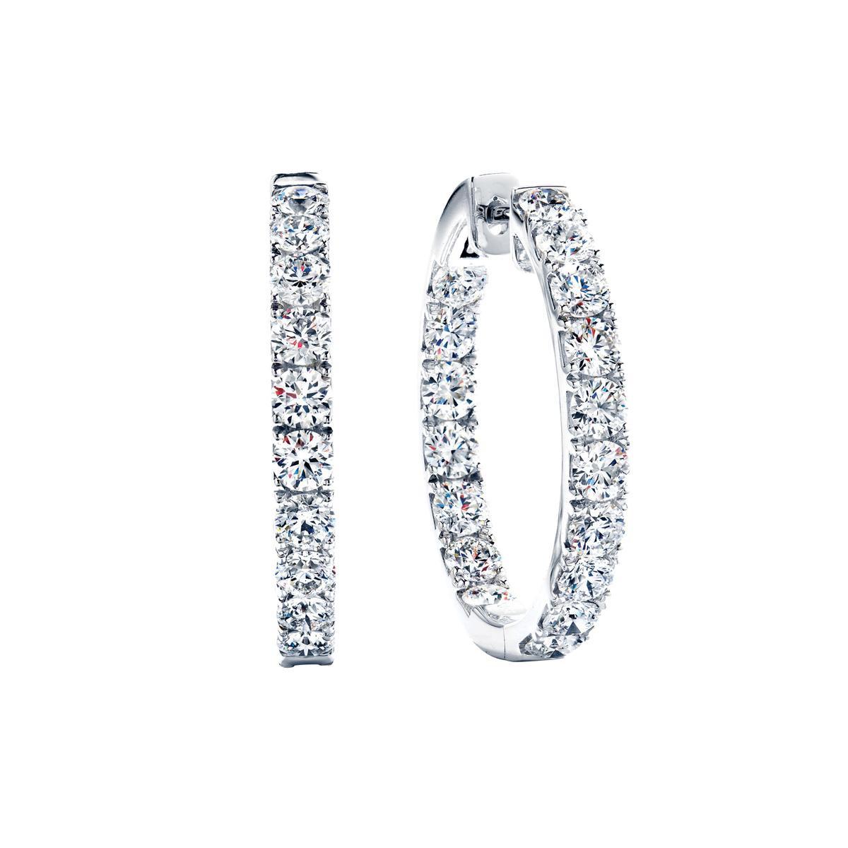 New Hearts On Fire® 1.49 CTW Hoopla Earrings