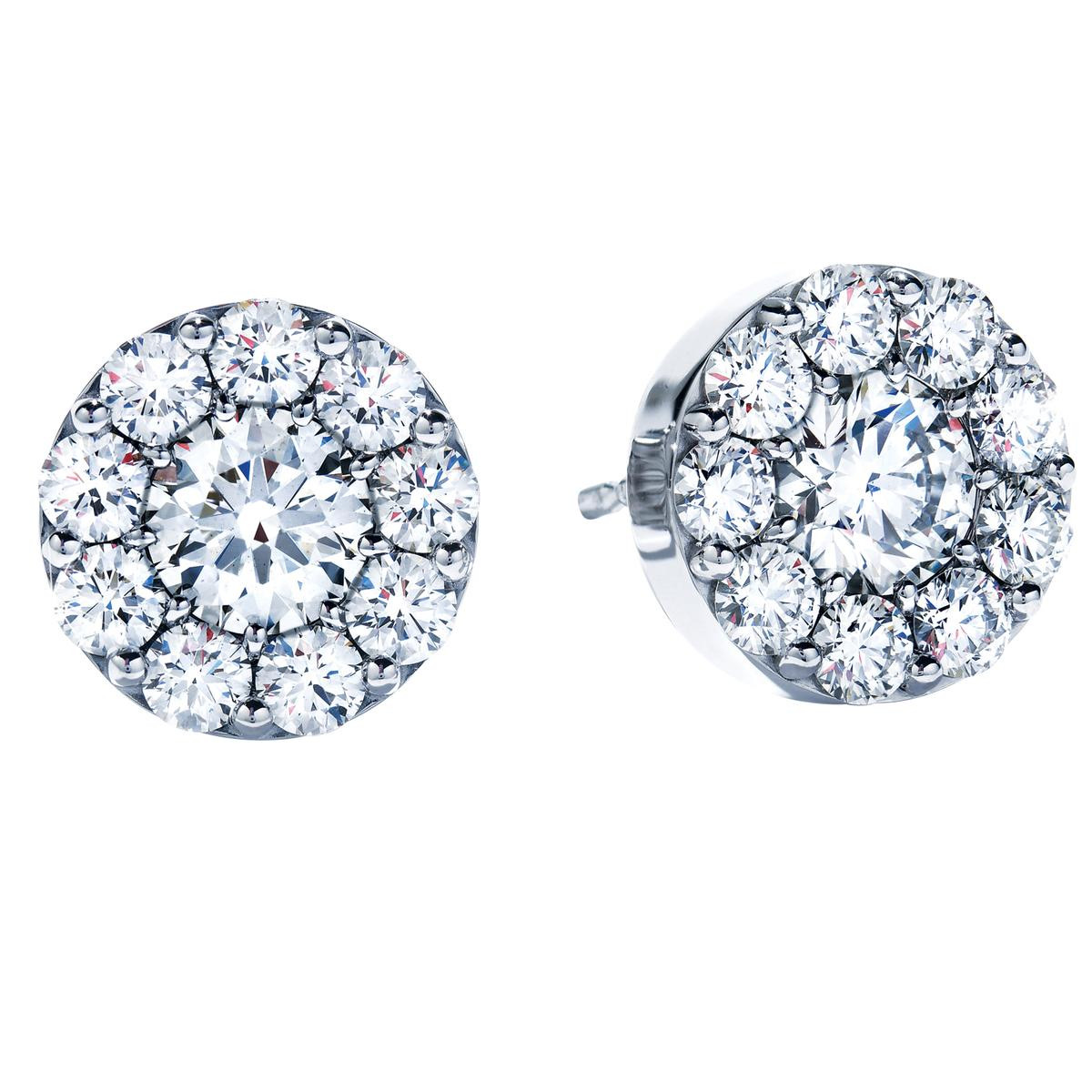 New Hearts On Fire® 0.99 CTW Diamond Fulfillment Earrings