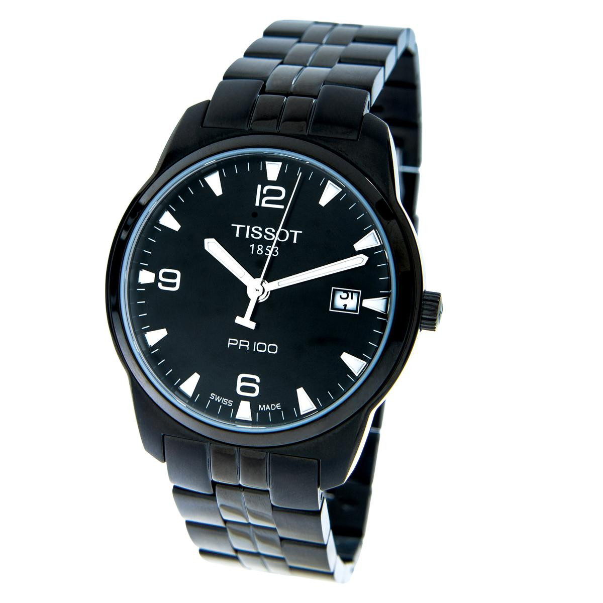 New Tissot PVD PR100 Watch