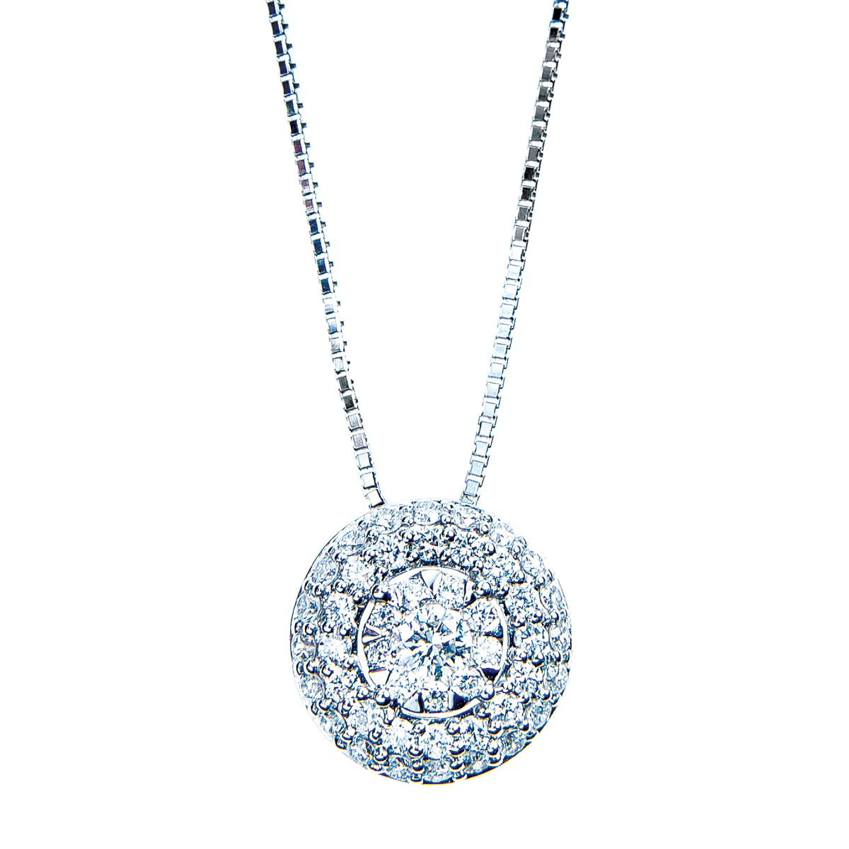Mémoire® 0.50 CTW Diamond Bouquet Pendant