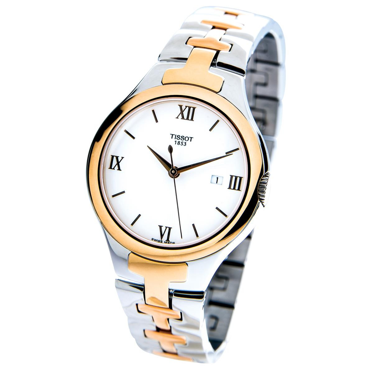 New Tissot T12 with Two-Tone Bracelet