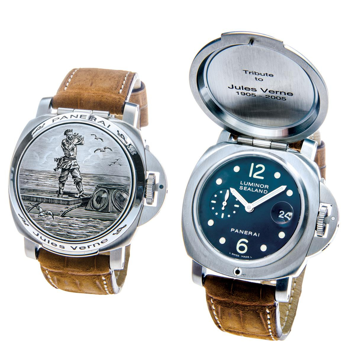 Like-New Panerai Limited Edition Jules Verne Sealand PAM216