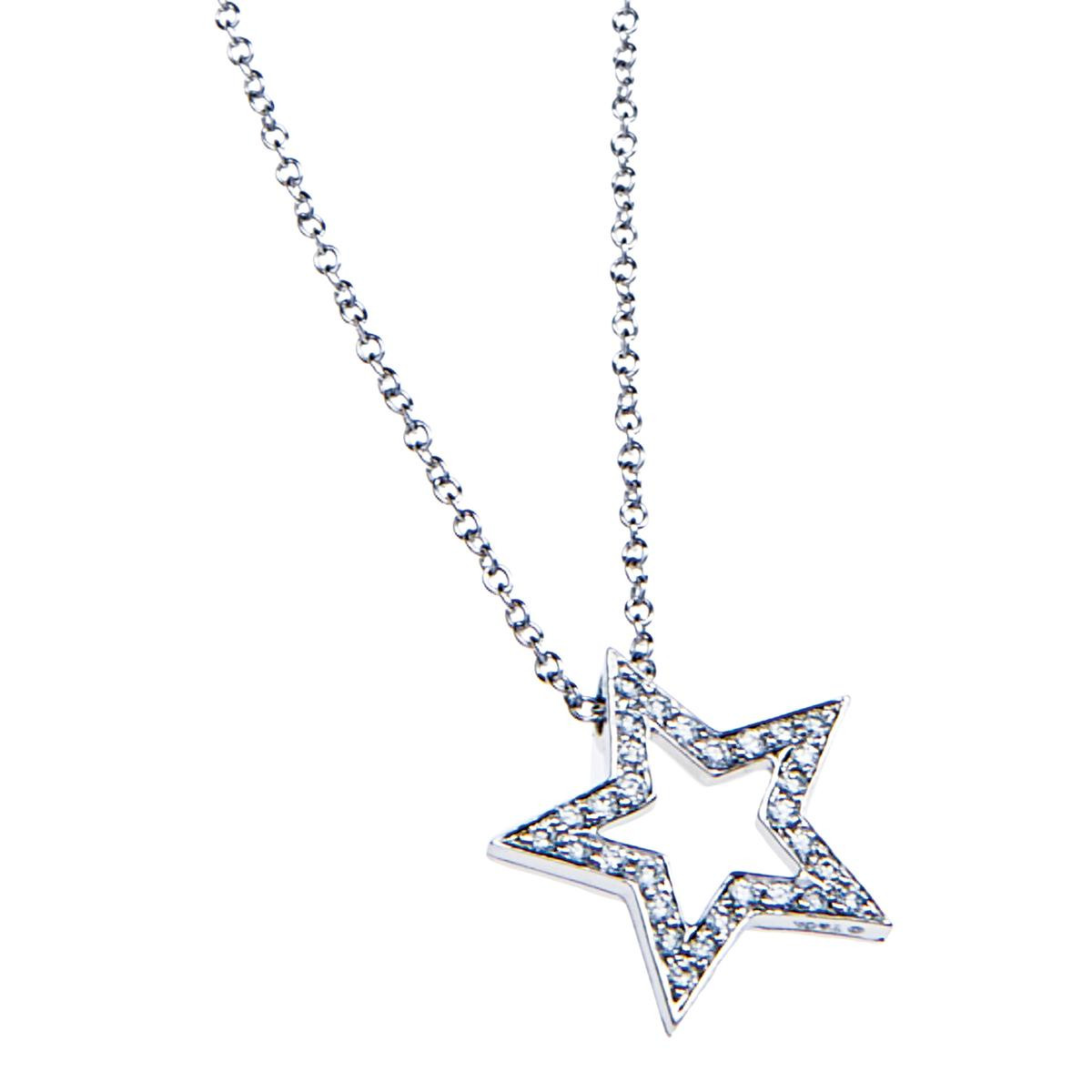 Vintage Tiffany & Co. Diamond Star Pendant