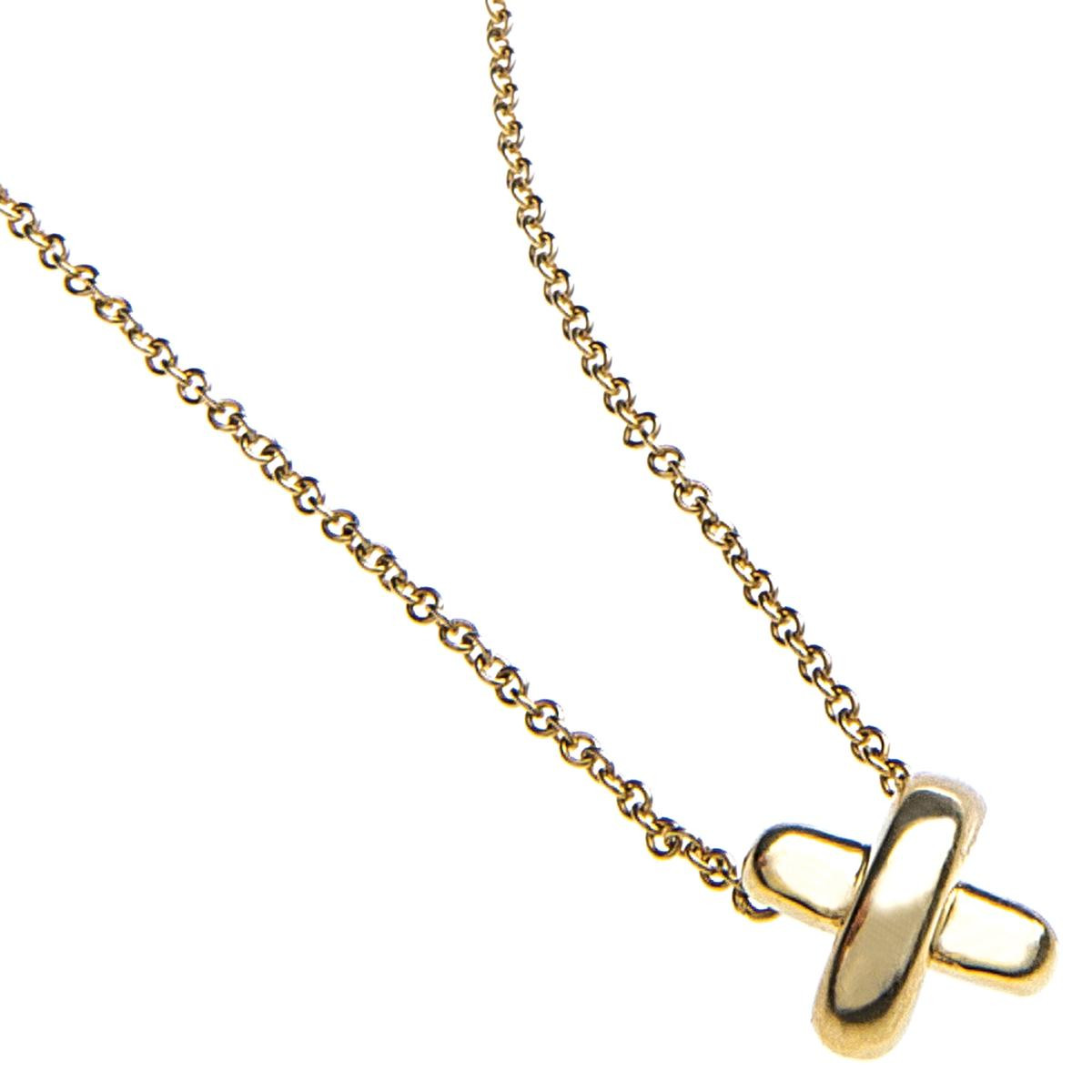 Vintage Tiffany & Co. Mini Signature X Pendant