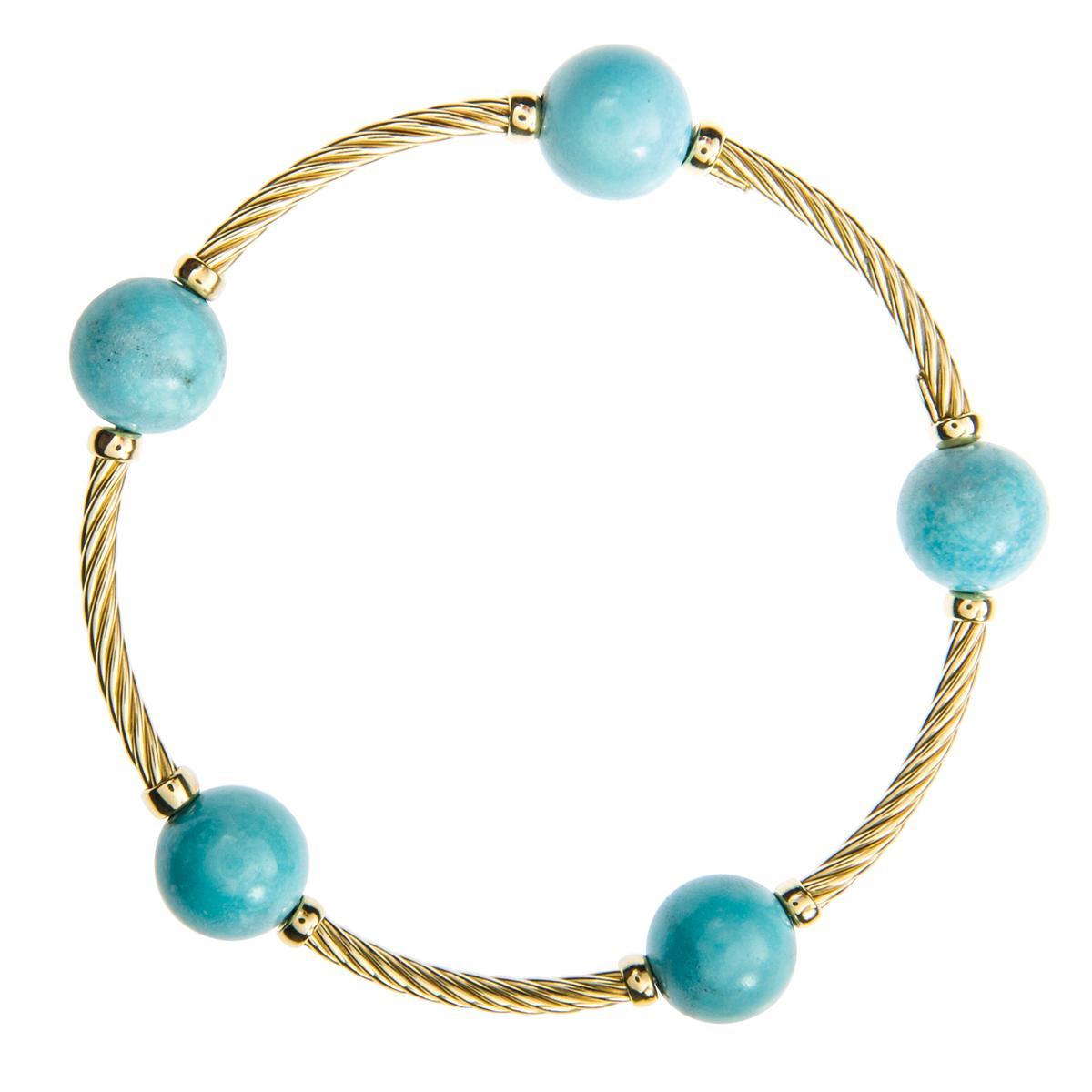 Vintage David Yurman Turquoise Bangle