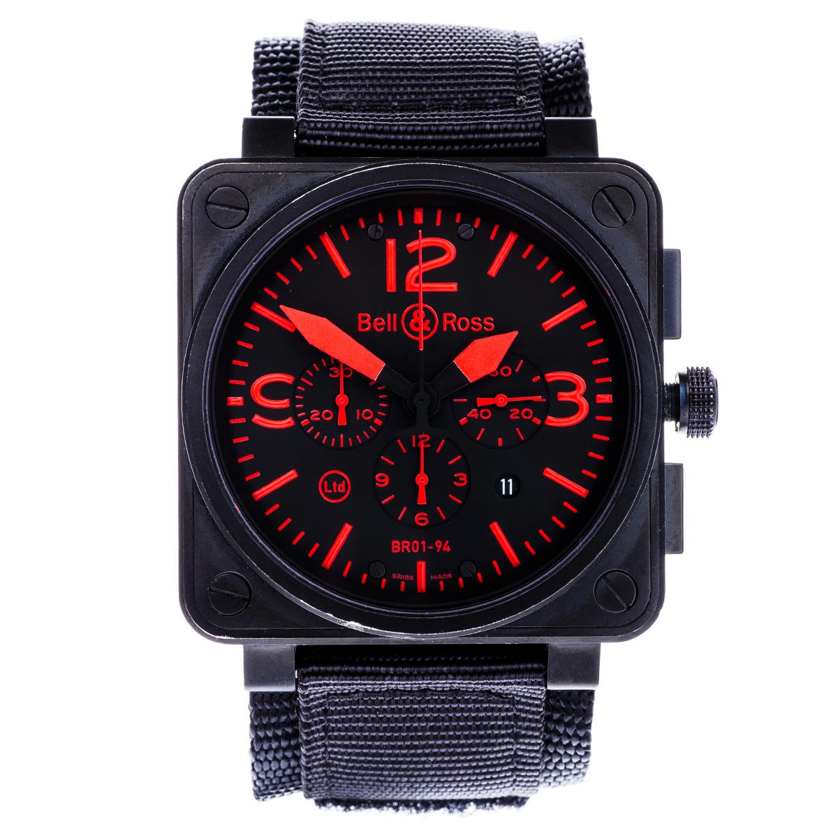 Preowned Bell & Ross Limited Edition BR01-94 Chronograph