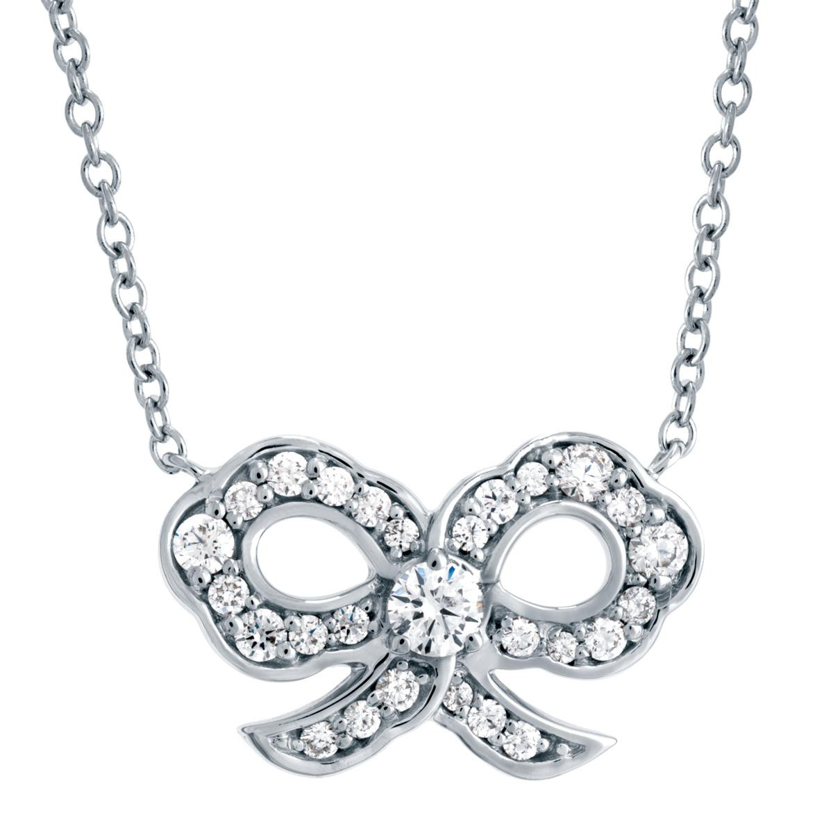 New Hearts On Fire® Diamond Lorelei Bow Necklace