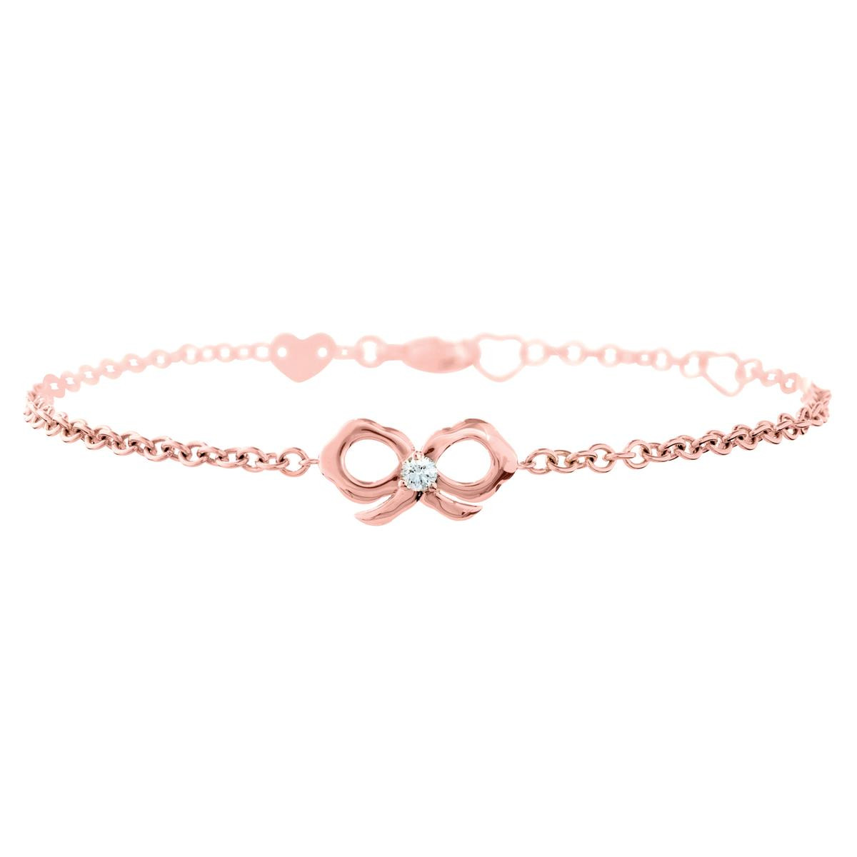 New Hearts On Fire® Lorelei Bow Bracelet