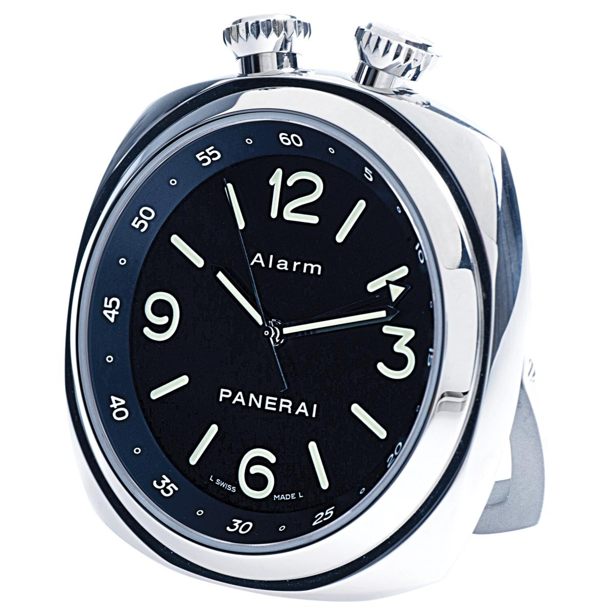 Pre-Owned Panerai Travel Alarm Clock