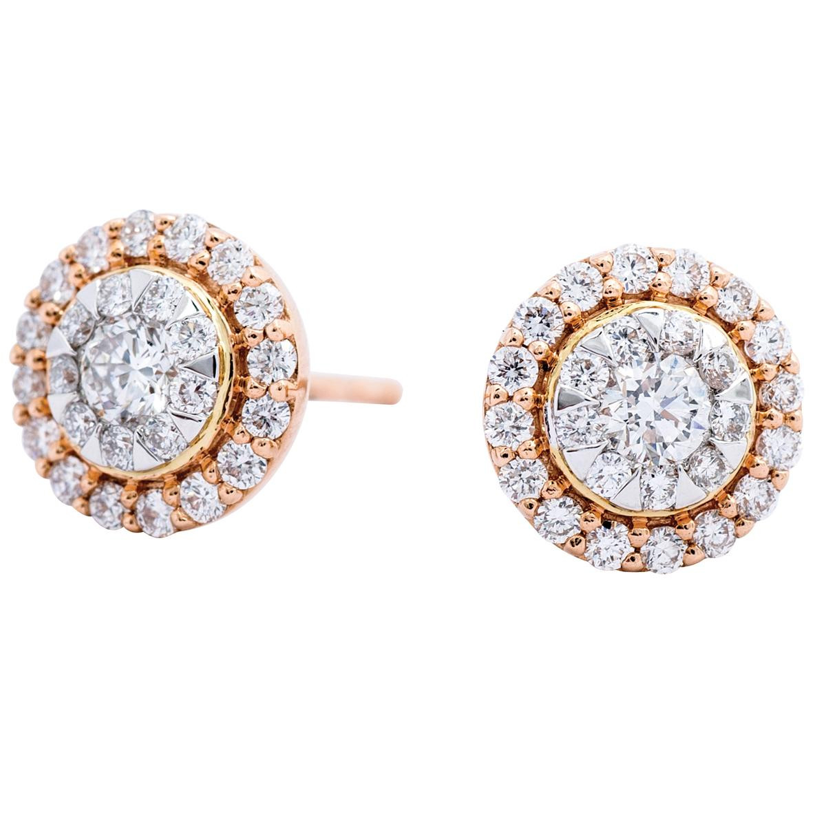 New Mémoire®® 0.62 CTW Diamond Bouquet Earrings