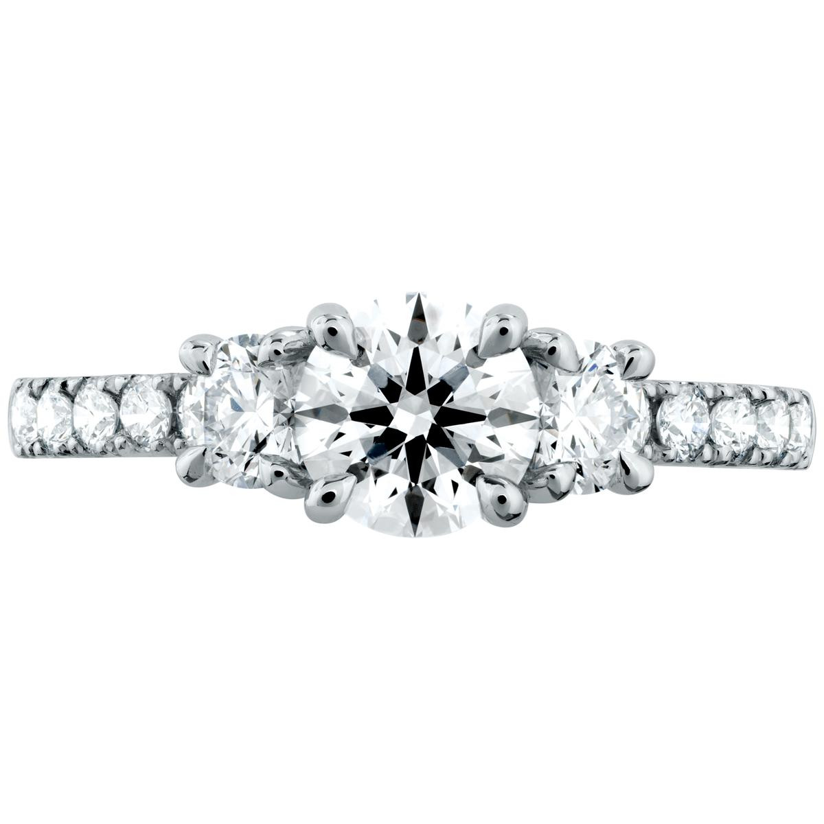 New Hearts On Fire® Destiny Engagement Ring