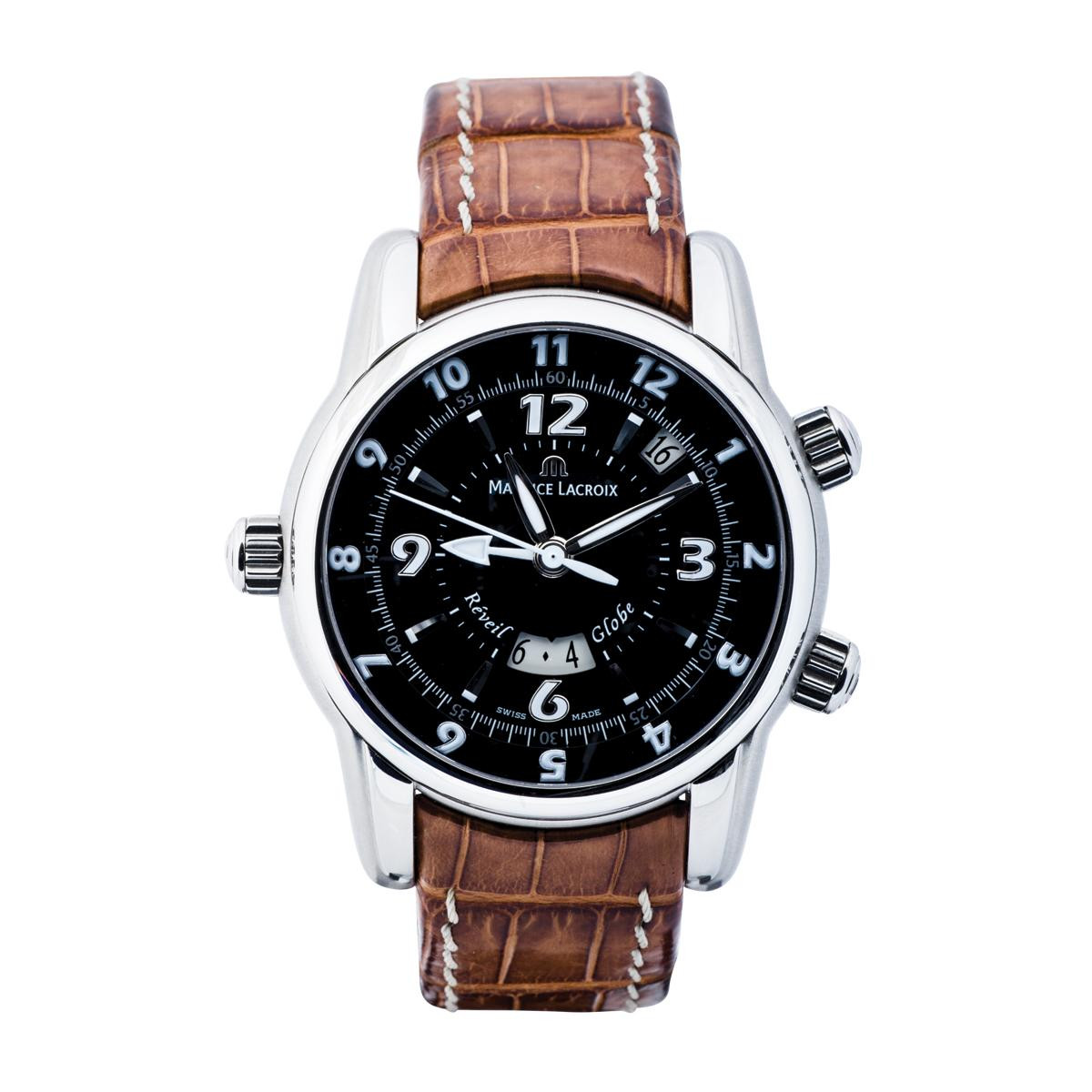 Pre-Owned Maurice Lacroix Reveil Globe