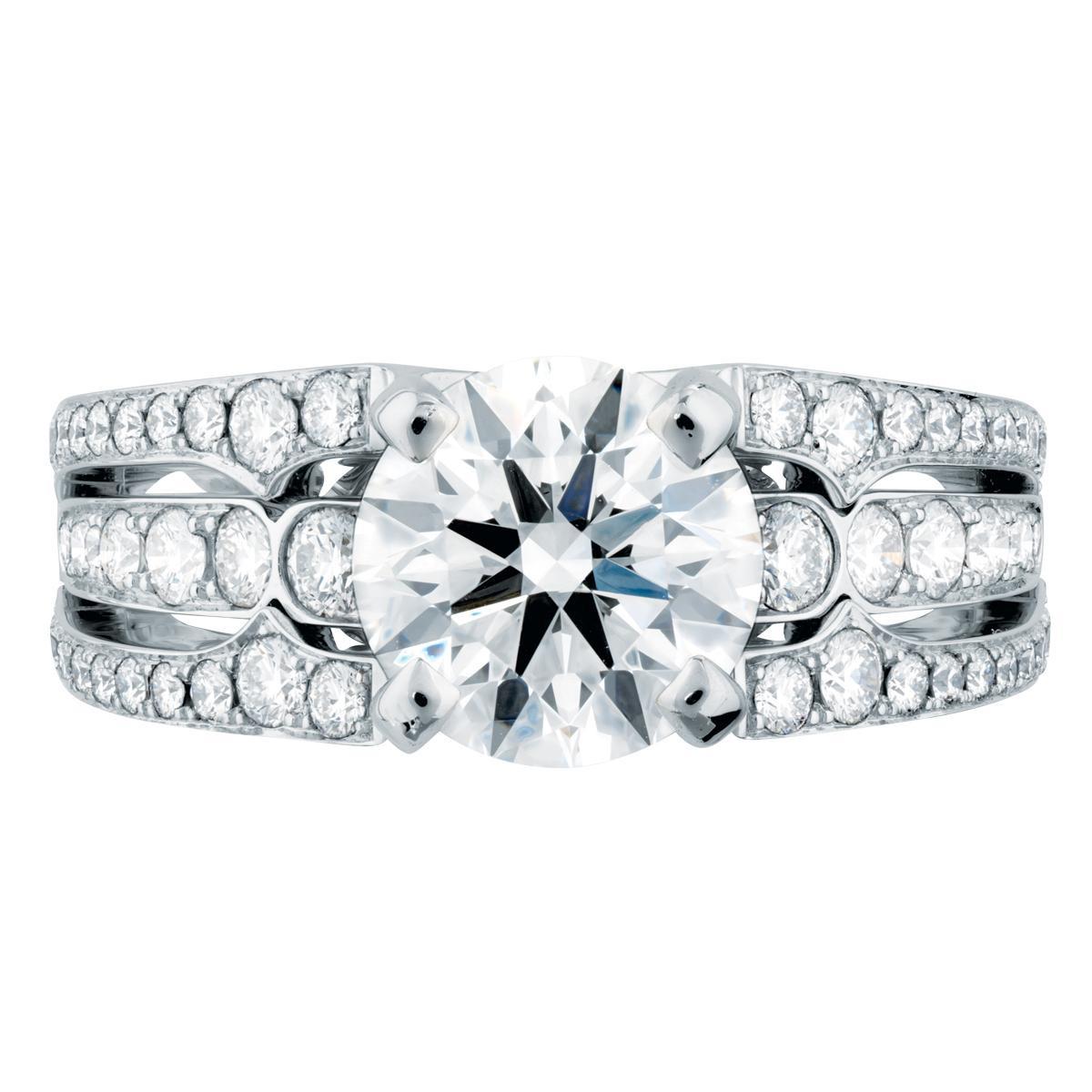 New Hearts On Fire® 2.402 CTW Copley Diamond Ring
