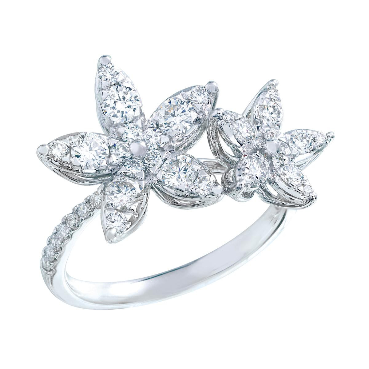New Mémoire®® 0.91 CTW Marqkisses Ring