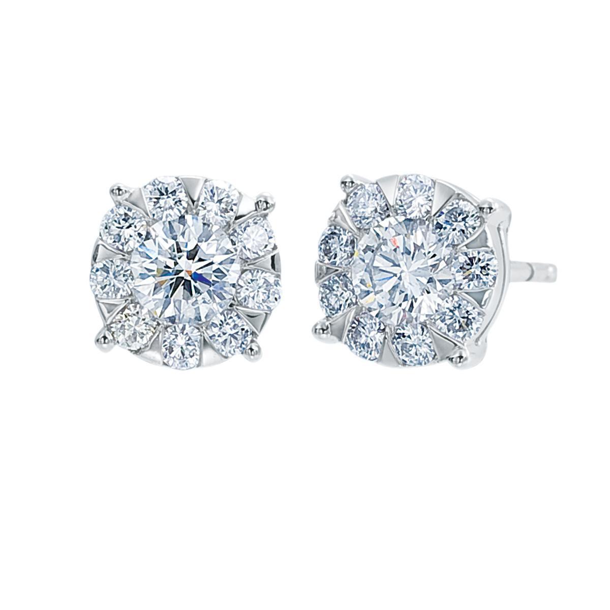 New Mémoire®® 0.17 CTW Bouquet Earrings