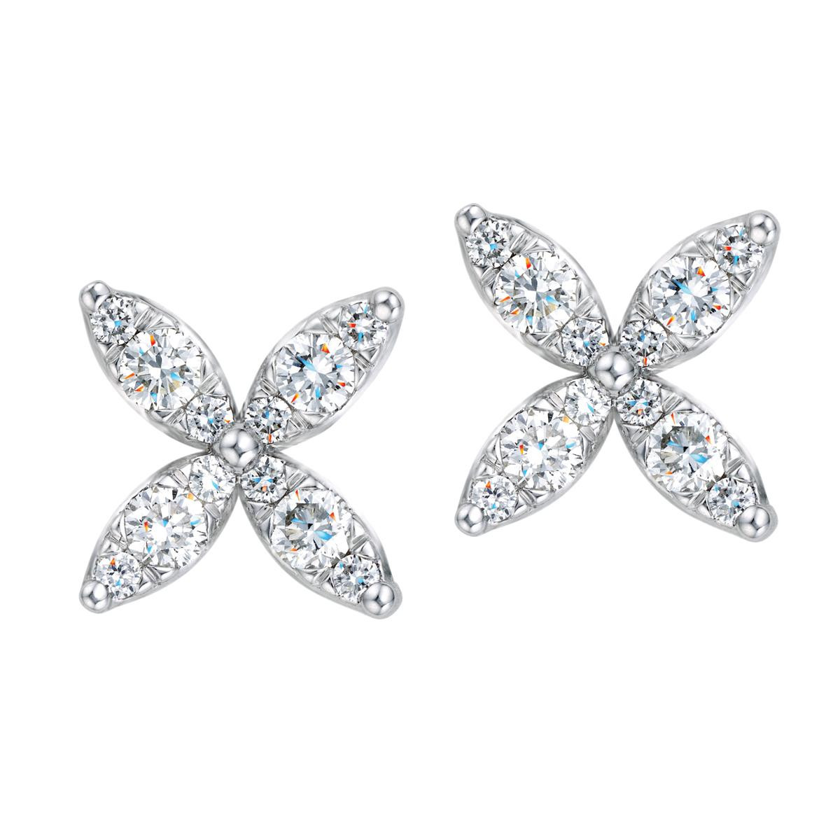 Mémoire®® 0.30 CTW Marqkisses Earrings