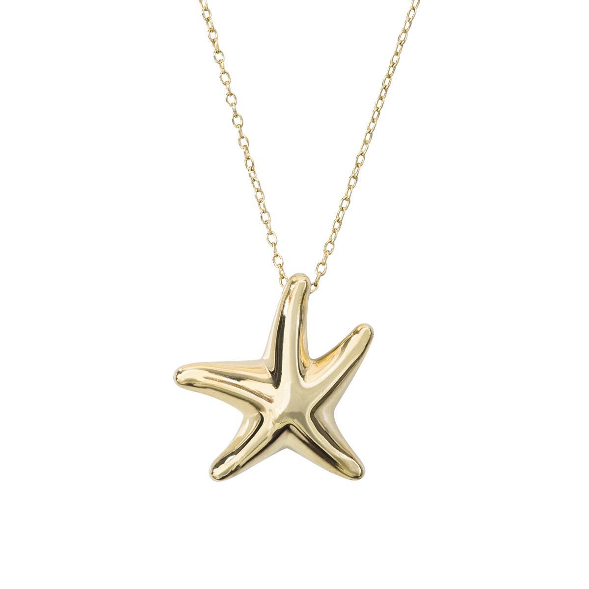 Vintage Tiffany & Co. Starfish Pendant