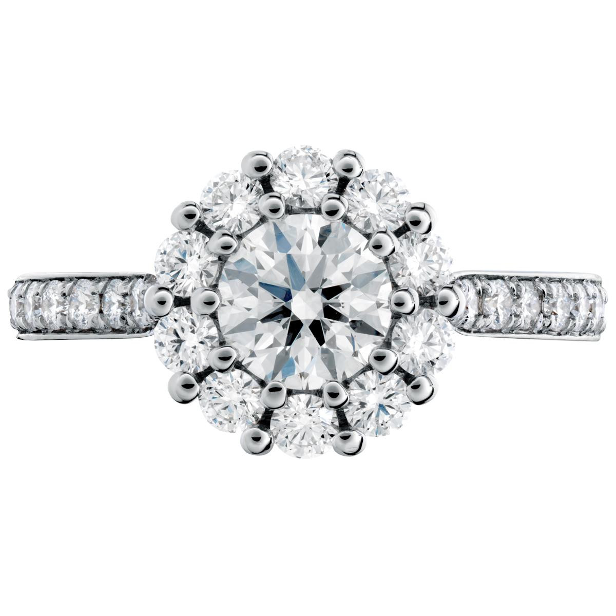 New Hearts On Fire® 1.202 CTW Beloved Diamond Ring