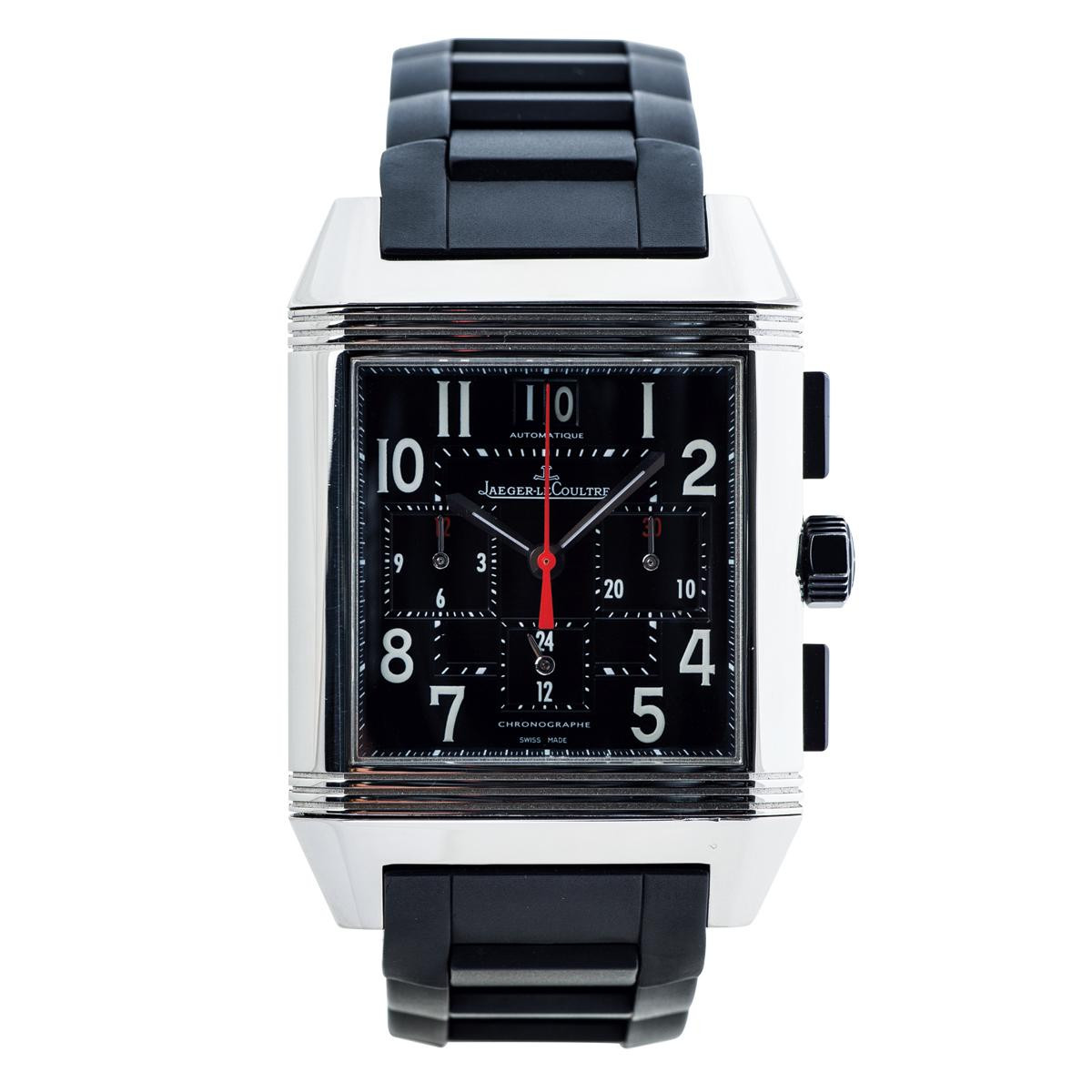 Preowned Jaeger-LeCoultre Reverso Squadra GMT