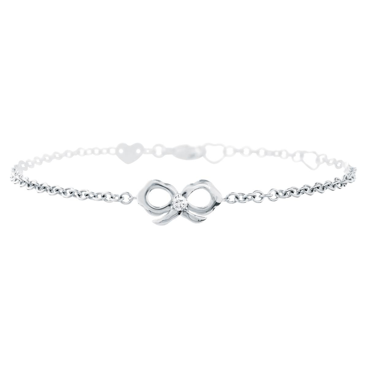 New Hearts On Fire® Lorelei Diamond Bow Bracelet