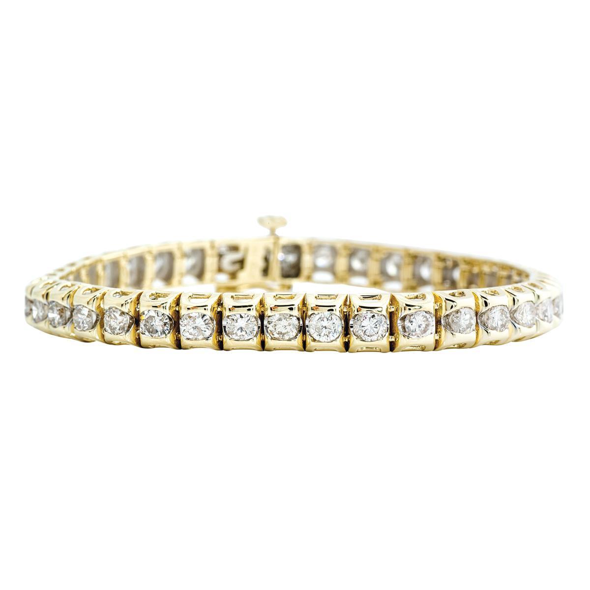Vintage 6.00 CTW Diamond Tennis Bracelet