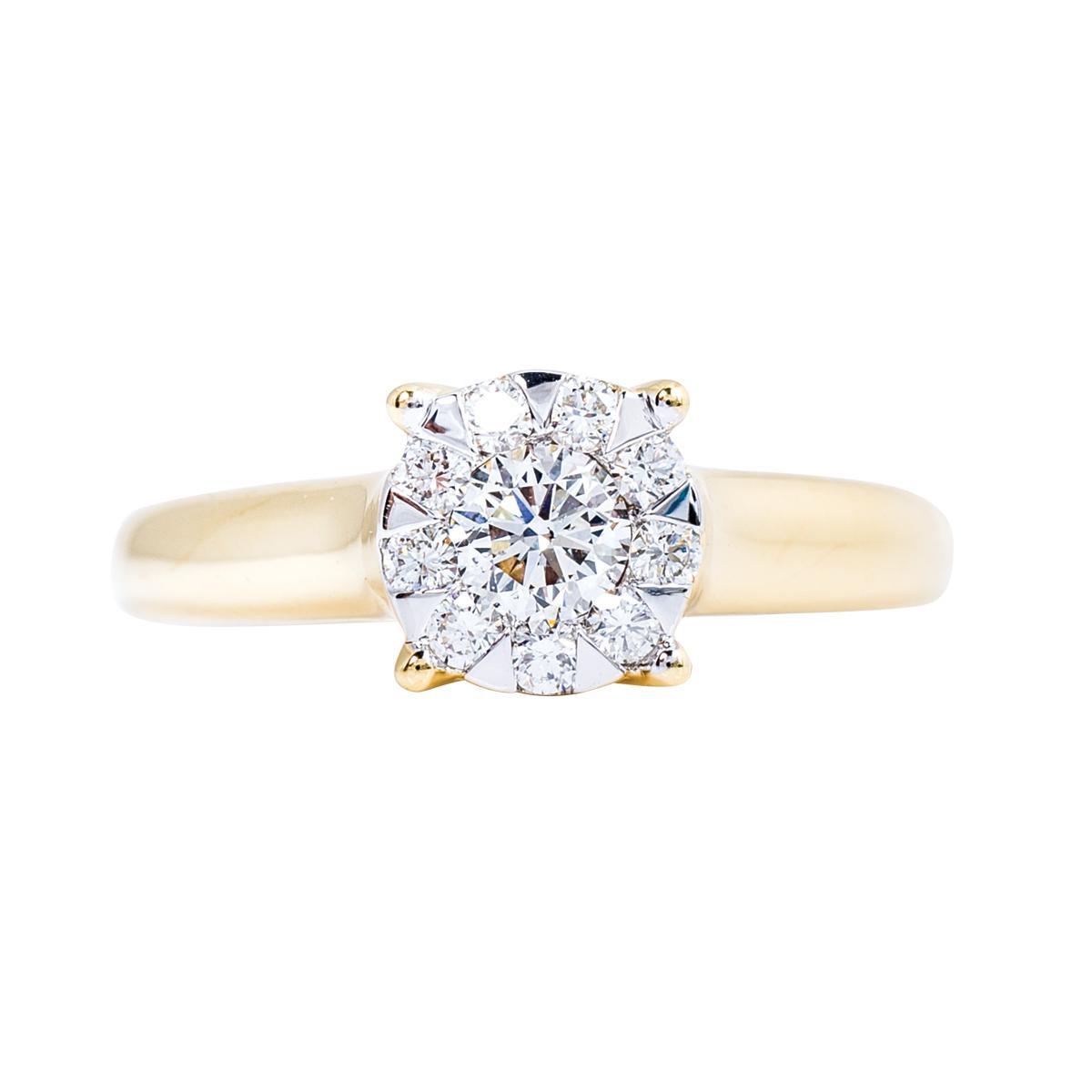 New Mémoire®® 0.50 CTW Diamond Bouquet Ring