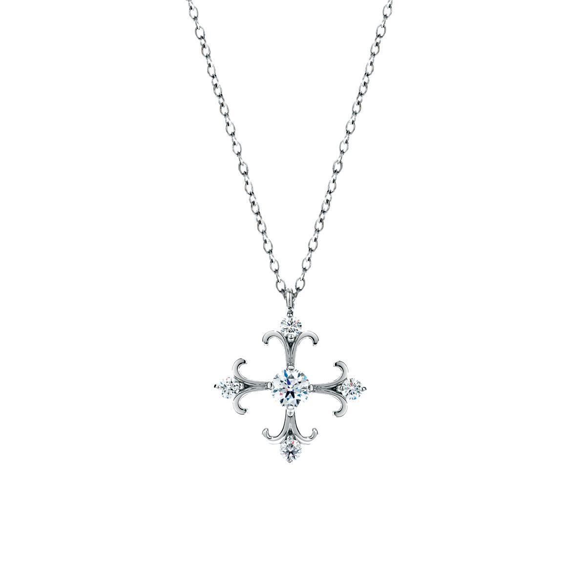 New Hearts On Fire® Fairy Tale Cross Pendant