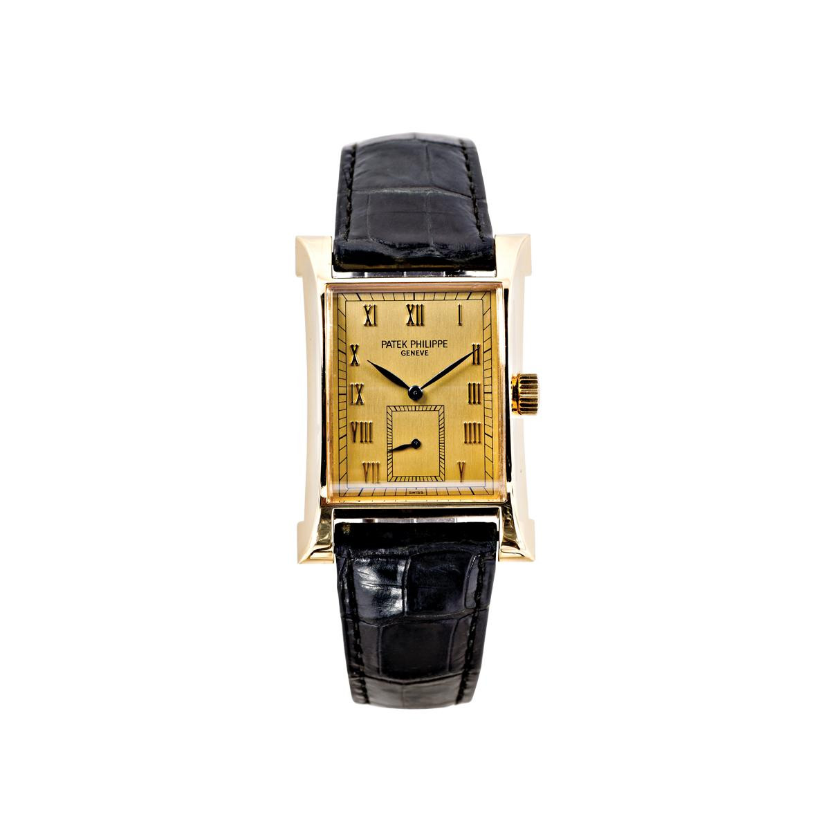 Preowned 18K Gold Patek Philippe Pagoda