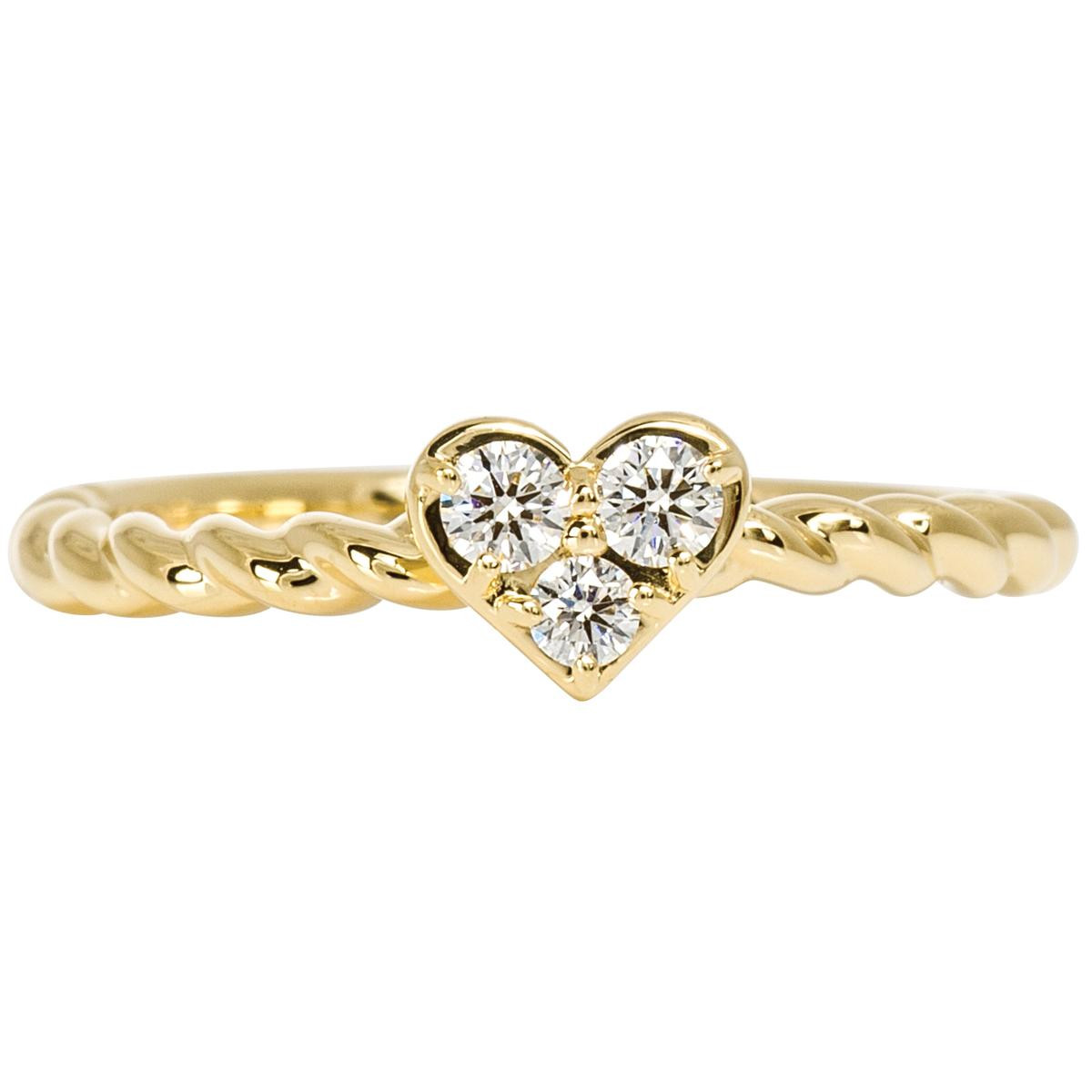 New Hearts On Fire® Diamond Heart Ring