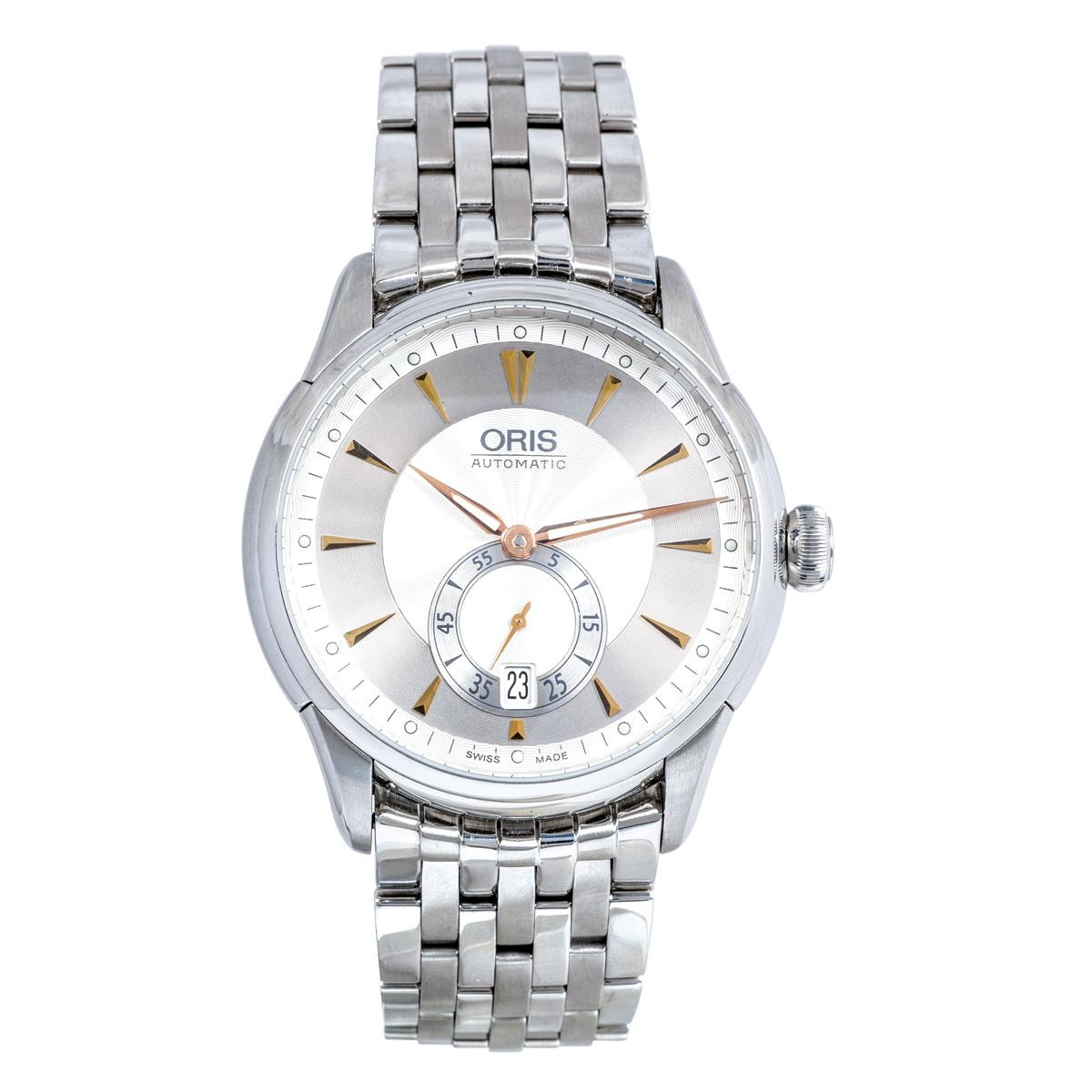 Pre-Owned Oris Artellier Small Second Date