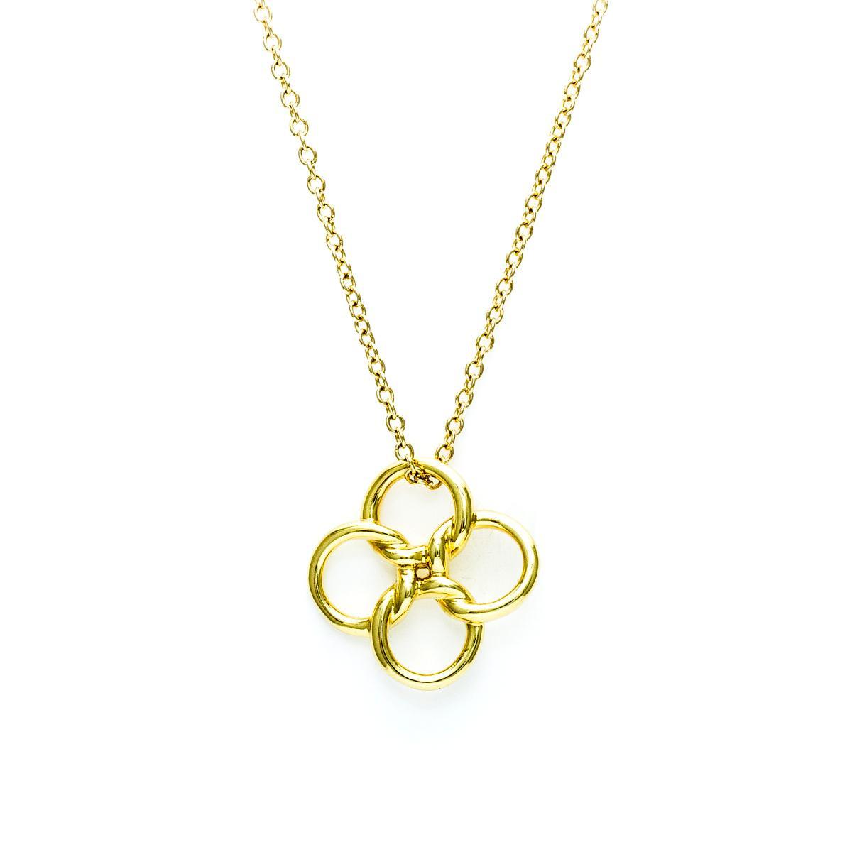 Tiffany co elsa peretti 18k quadrifoglio pendant elsa peretti 18k quadrifoglio pendant gallery image mozeypictures Gallery