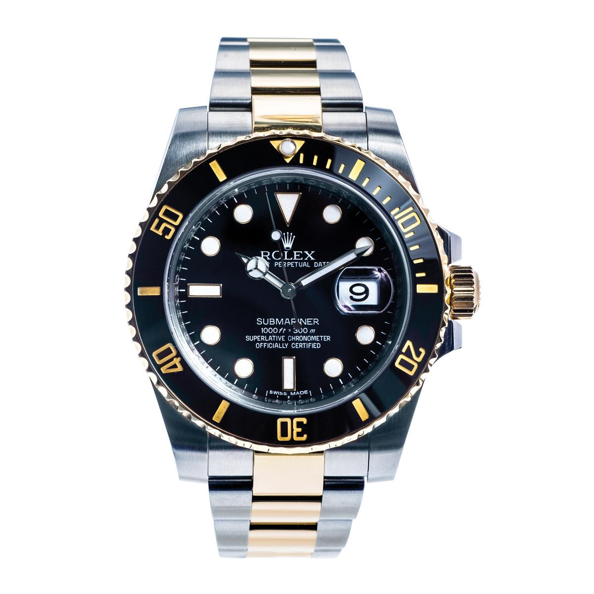 Pre-Owned Rolex Submariner 18K & Stainless Steel
