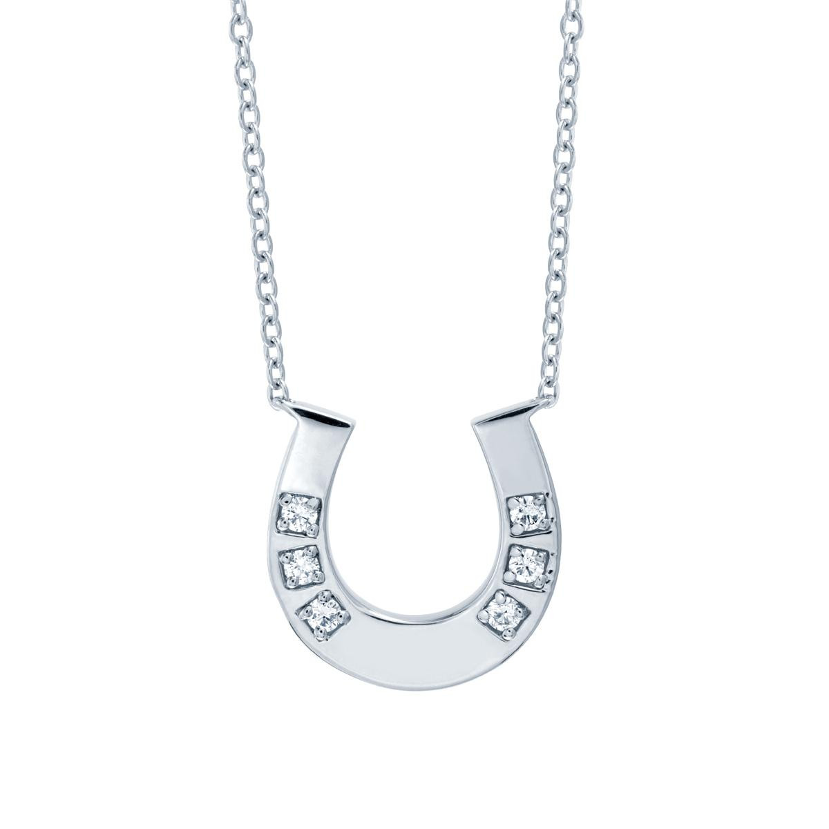 New Hearts On Fire® Horseshoe Necklace