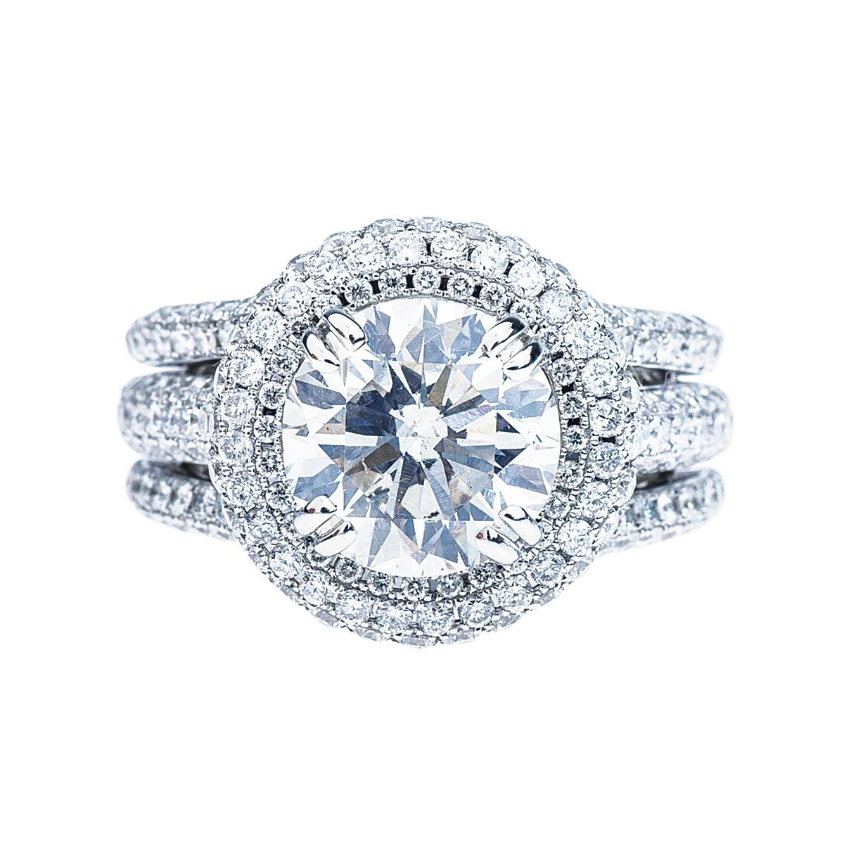 New 3.11 CT Engagement Ring